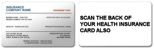 Health Insurance Card Scan sample